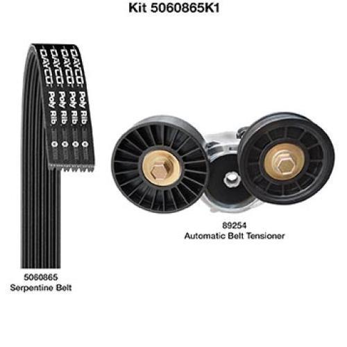 Dayco Serpentine Belt Kit (5060865K1)