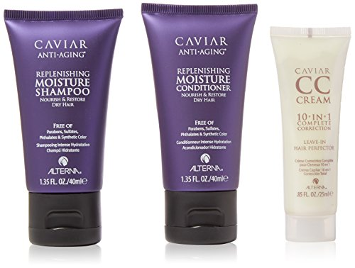 Alterna Caviar Hair Replenishing Moisture Trio: Shampoo,, used for sale  Delivered anywhere in USA