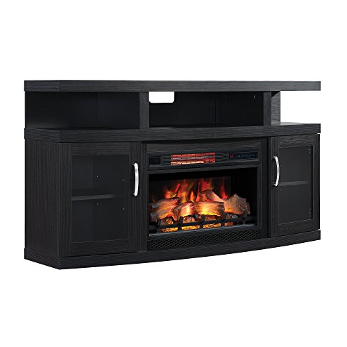 ClassicFlame 26MM5508-NB04 Cantilever TV Stand for TVs up to 65