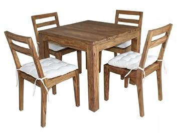 Esstisch 4 Personen massivholz esszimmergruppe für 4 personen aus palisander esstisch