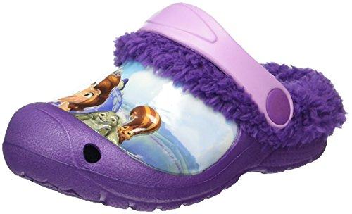 Sofia die Erste Mädchen Girls Kids Clog Sandals and Mules, Violett (Purple Lilac Ppl), 26 EU