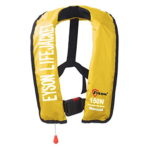 Eyson Soft Inflatable Life Jacket Vest PFD for Adults Manual