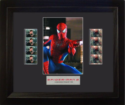 Double Series 2 Film Cell (Spider-Man 2 (Series 2) Framed Double Film Cell Presentation)