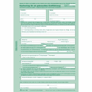 Rnk Kaufvertrag Für Gebrauchte Kfz Ve10 Stück Amazonde