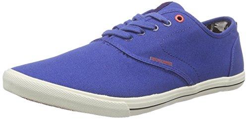 JACK & JONES JJSPIDER CANVAS SNEAKER - Zapatillas de deporte Hombre Azul - Bleu - Blau (Limoges)