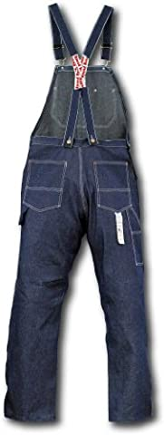 Round House Low Back-Zipper Fly Overalls - Fly Bib Overalls