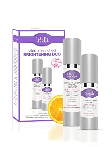 Cheap Belli – Vitamin Enriched Brightening Duo – Healthy Glow Facial Hydrator and Eye Brightening Cream