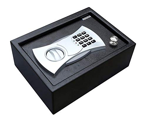 - Home Security Lock Gun Box Electronic Digital Flat Recessed Wall Safe