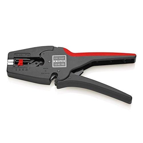 Knipex 12 42 195 MultiStrip 10 - vollautomatische Abisolierzange