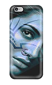 CharlesRaymondBaylor Case Cover For Iphone 6 Plus - Retailer Packaging Face Tattoos Protective Case