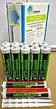 Green Glue Noiseproofing Combo Pack 12 Tubes (10 Green Glue - 2 SilenSeal)