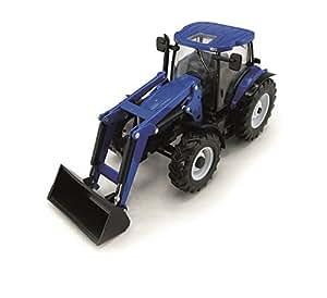 New Holland T6020 - Tractor de juguete, color azul