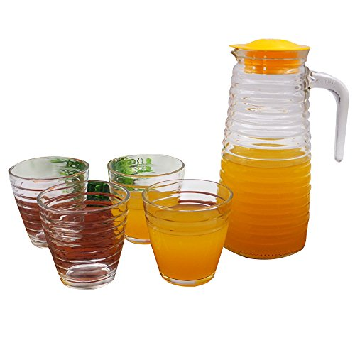 pitcher and glass set - 6