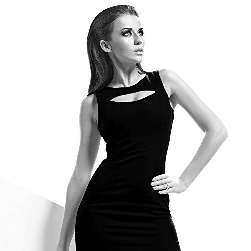 """Fashionvictime - Bague Femme - """"Cœur"""" - Argent Plaqué Rhodium - Cubic Zirconium (Cz) - Bijou"""