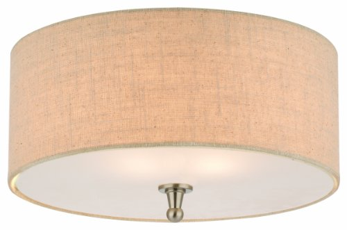 Thomas Lighting M271878 Allure Ceiling Lamp, Brushed Nickel - Luminaire Incandescent Table Lamp