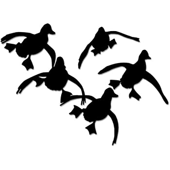 ducks geese flying hunting vinyl decal sticker for vehicle car truck window bumper wall decor