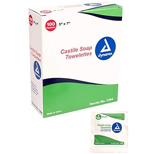 Dynarex Castile Soap Towelettes 5