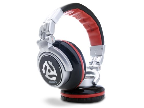 Numark Red Wave | Professional Over-Ear DJ Headphones with Rotating Earcup