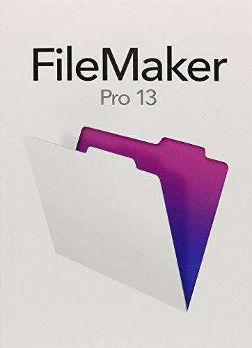 Software : FileMakerPro 13 - English