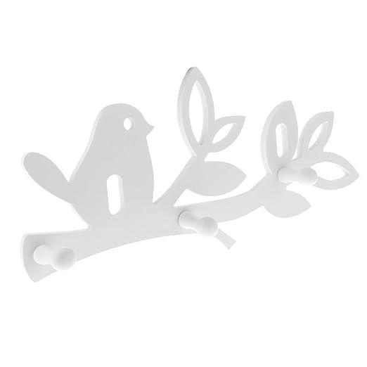 Tubayia - Perchero de Pared con Forma de pájaro para Cocina ...