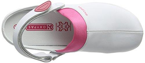 Oxypas Doria, Zapatos de seguridad, Mujer Blanco (Fux)