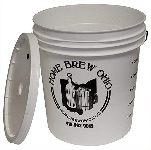 (Midwest Homebrewing and Winemaking Supplies 7.9 gallon Plastic Fermentor with Lid)