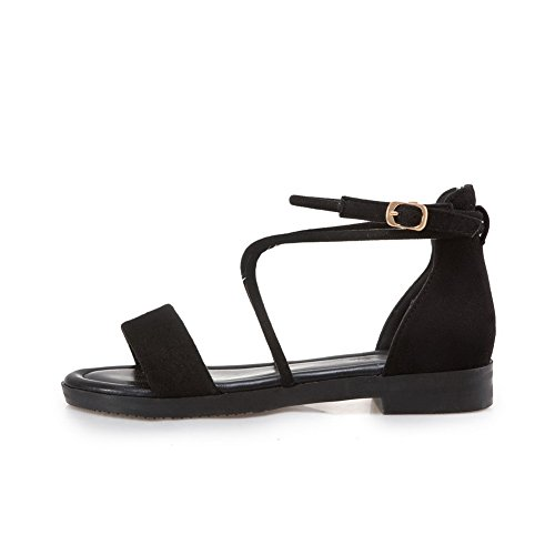1TO9 Womens Sandals Structured Casual Urethane Sandals MJS03171 Black 9Rw9s1