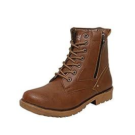 Shoe Island Men's Combat Boot
