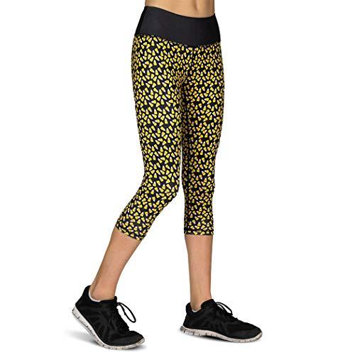 Gone For a Run Women's Running Performance Capris | Halloween Candy Corn | Size 6 -