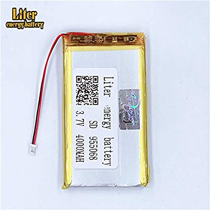 501646 BIHUADE 3.7V 501646 500mAh Jst Ph1.0 Connector Plug Lithium Polymer Li-Po Battery Lithium Ion Polymer Rechargeable Battery for MP4 GPS MP3 Bluetooth Stereo DIY Gift