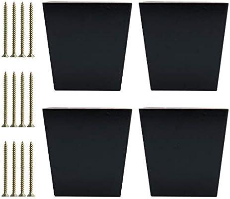 Sourcingmap - Patas cuadradas de madera maciza para muebles ...