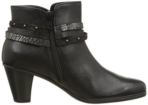 Gabor Gabor Basic - botas bajas de cuero mujer negro - Schwarz (schwarz kombi 57)