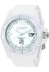 Haurex Italy Men's W1354UW1 Caimano Date White Dial Rubber Sport Watch