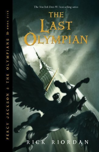 The Last Olympian (Percy Jackson and the Olympians, Book 5) Reprint Edition by Riordan, Rick published by Hyperion Book CH (2011)