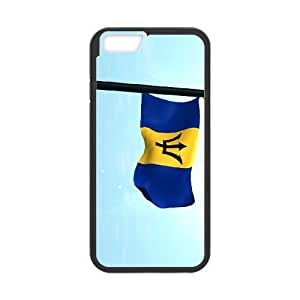 iphone6 4.7 inch Phone Case Black Barbados Flag AH1112704