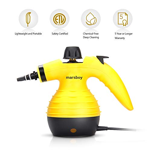 Review Handheld Steam Cleaner – High Temperature / High Pressure Steam Cleaner, Powerful Steam Rem...