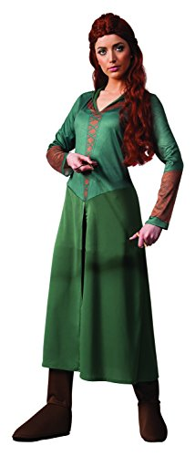 Rubie's Costume Women's Hobbit 2 Desolation Of Smaug Adult Tauriel, Green, Large (Adult Hobbit Costume)