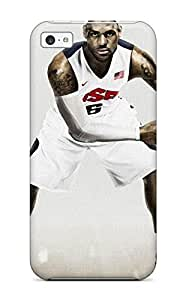TYHde Awesome Men Basketball Lebron James Ball Nba Flip Case With Fashion Design For Iphone 6 4.7 ending