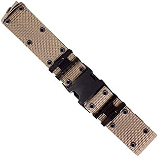 product image for Red Rock Outdoor Gear 2022TAN G.I.-Type Nylon Pistol Belt - Quick-Release Buckle Tan