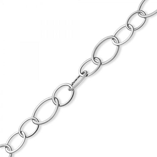 28mm loin Câble d'ancrage Imagination de collier de collier bijoux or blanc 58550cm