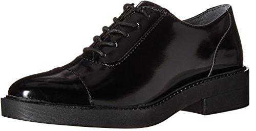 Denk Dat Dames Verin Tuxedo Loafer Zwart