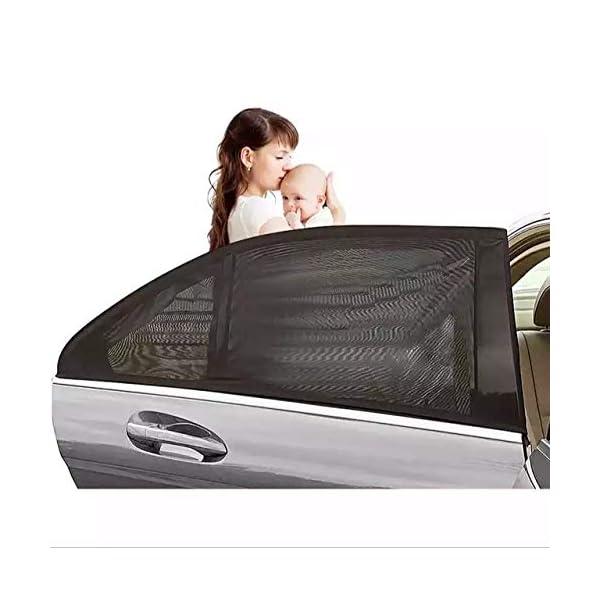 Tendine Parasole Auto Bambini Stefe Parasole Auto Bambini, Anti-zanzara e Blocca Raggi UV, Oscura Vetri, Protegge i tuoi… 1 spesavip