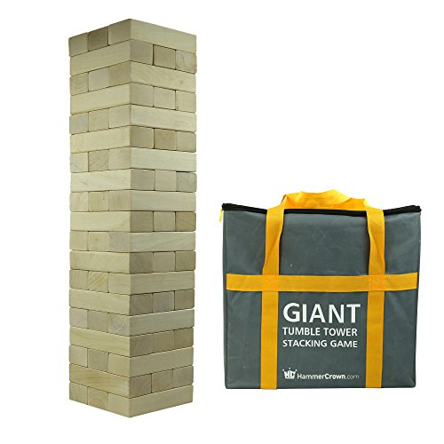 Hammer Crown Giant Tumble Tower (Hardwood) by Hammer Crown