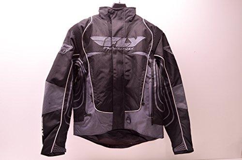 Fly Racing 470-2150M Snowcross Jacket Black/Grey Medium M Mens QTY 1