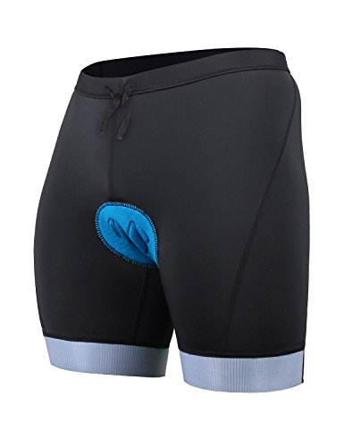 Baleaf Men's Triathlon Padded Tri Shorts with Pockets UPF50+