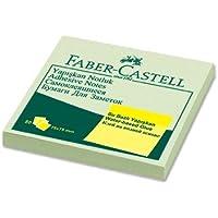 Faber-Castell 5089585404 Yapışkan Notluk Harmony 75 x 75mm, Yeşil