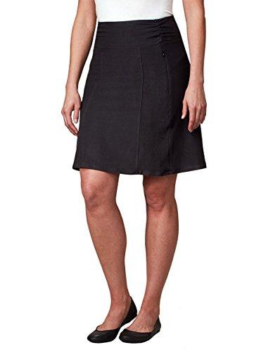 SCOTTeVEST Sandy Womens Skirt - Skirts for Women - Ladies Black A-Line Skirt (BLK M4) (Best M4 On The Market)