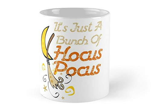 (Army Mug It's Just A Bunch Of Hocus Pocus Halloween Gift T-Shirt Mug - 11oz Mug - Features wraparound prints - Dishwasher safe - Made from Ceramic - Best gift)