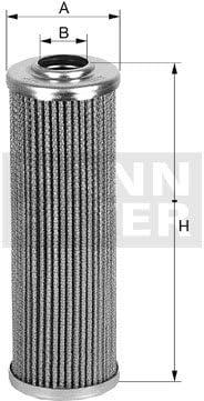 Automatikgetriebe Mann Filter HD 509//2/Hydraulikfilter