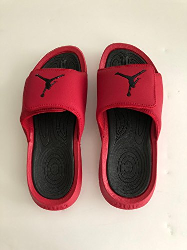 414c51b3f3b2 Galleon - Jordan Nike Kids Hydro 6 BG Sandal Gym Red Black Size 7